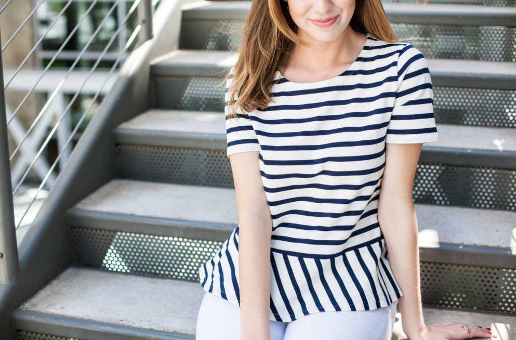 Spring Stripes and Pattern Mixing
